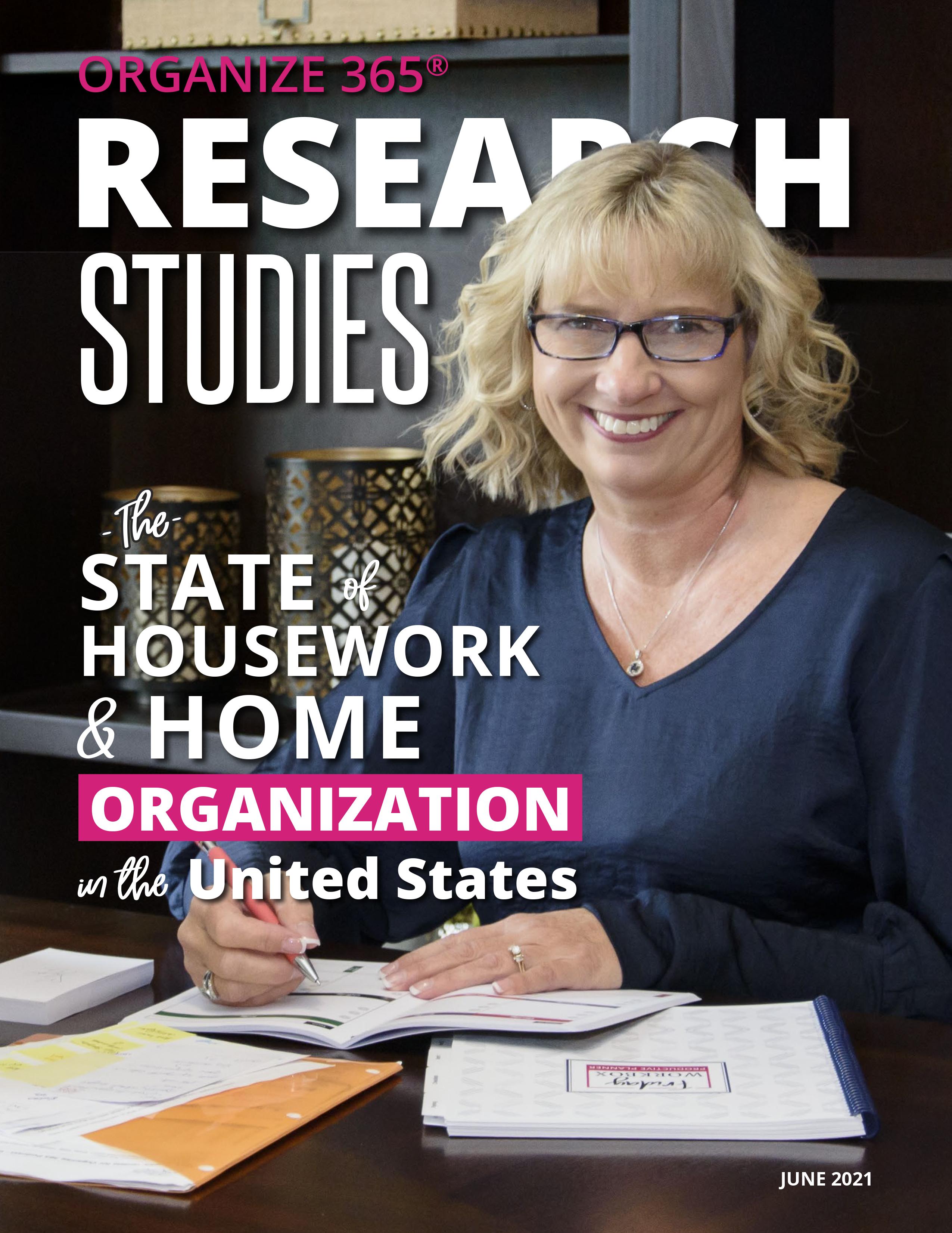Organize 365 Research Studies Magazine