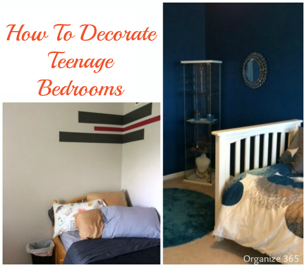 Are you looking for how to decorate teenage bedrooms? Read here about how I updated both my son's and daughter's teenage bedrooms.