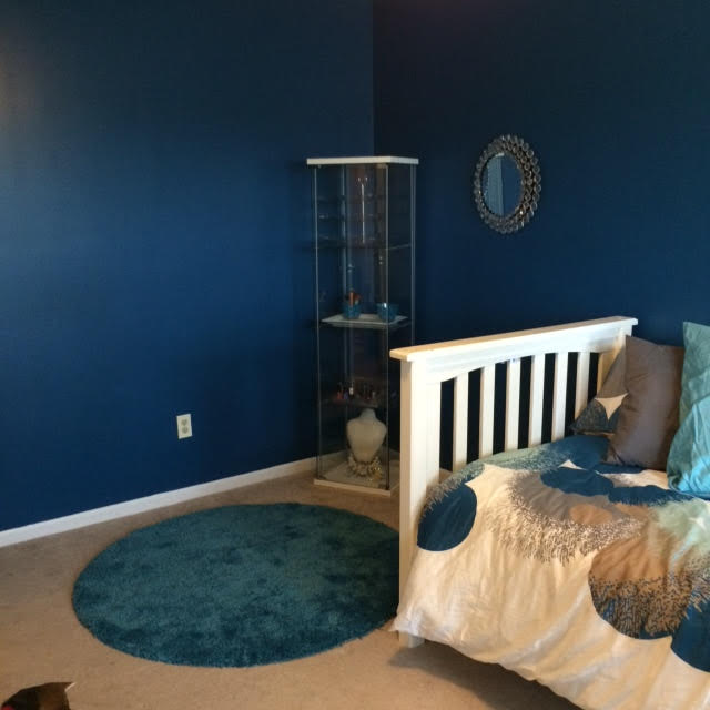 Teenage Girl's Bedroom | Are you looking for how to decorate teenage bedrooms? Read here about how I updated both my son's and daughter's teenage bedrooms.