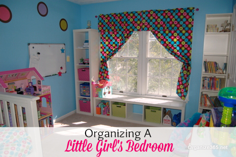 Little Girl's Bedroom | Are you looking for how to decorate teenage bedrooms? Read here about how I updated both my son's and daughter's teenage bedrooms.