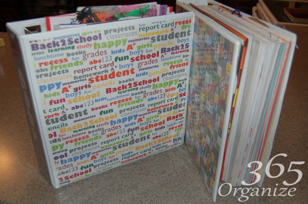 School Papers | Professional Organizer Lisa Woodruff shows 5 easy ways to organize a boy's bedroom.