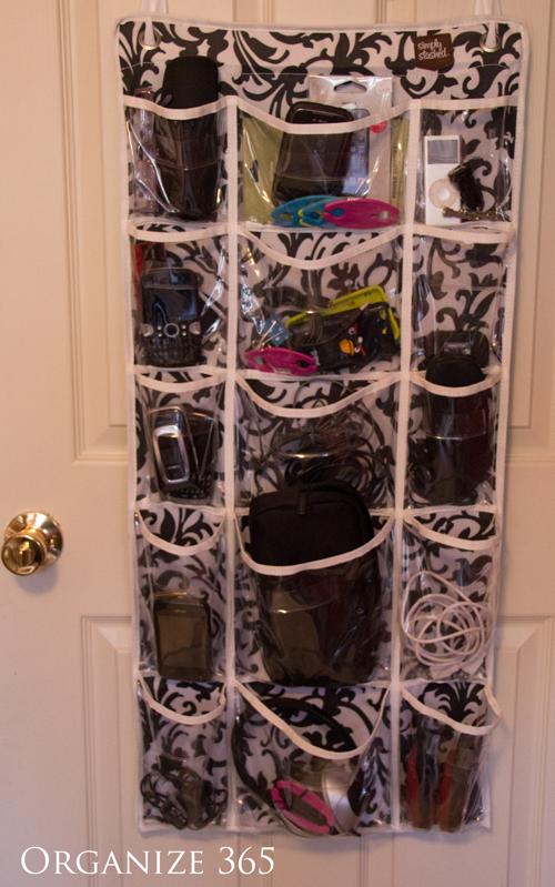 Electronics | Professional Organizer Lisa Woodruff shows 5 easy ways to organize a boy's bedroom.
