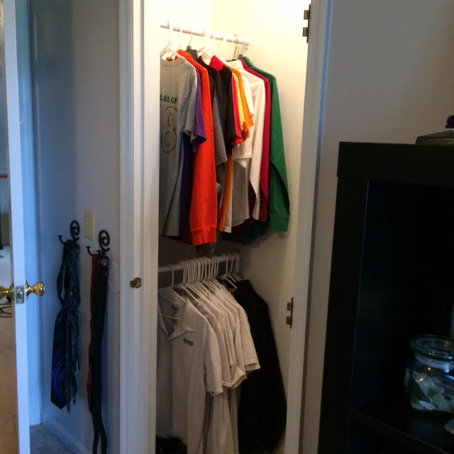 Clothes | Professional Organizer Lisa Woodruff shows 5 easy ways to organize a boy's bedroom.