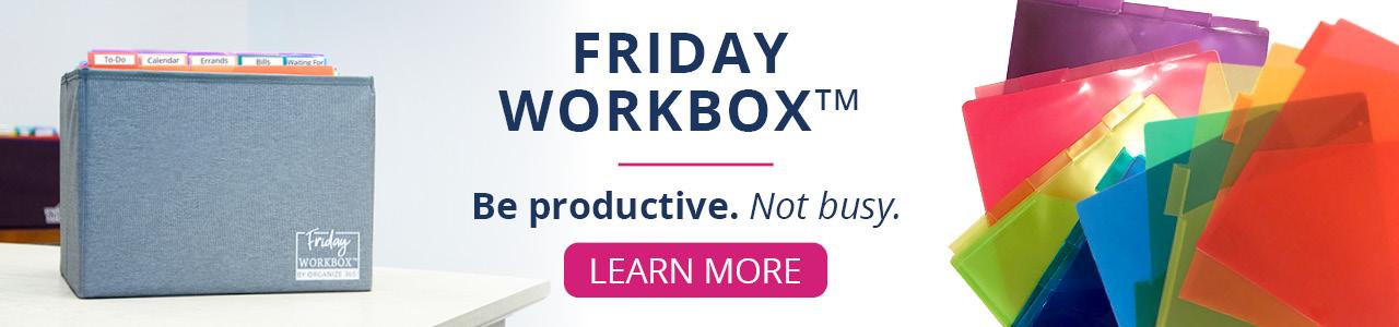 Friday Workbox Promotional Photo
