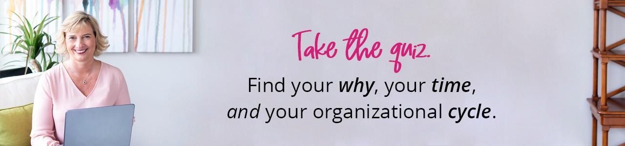 Take the Quiz | Organize 365
