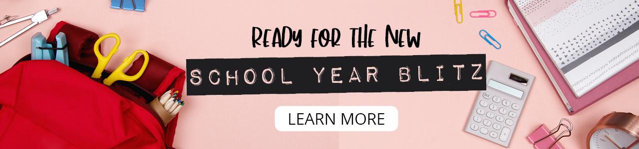 School Year Blitz | Organize 365