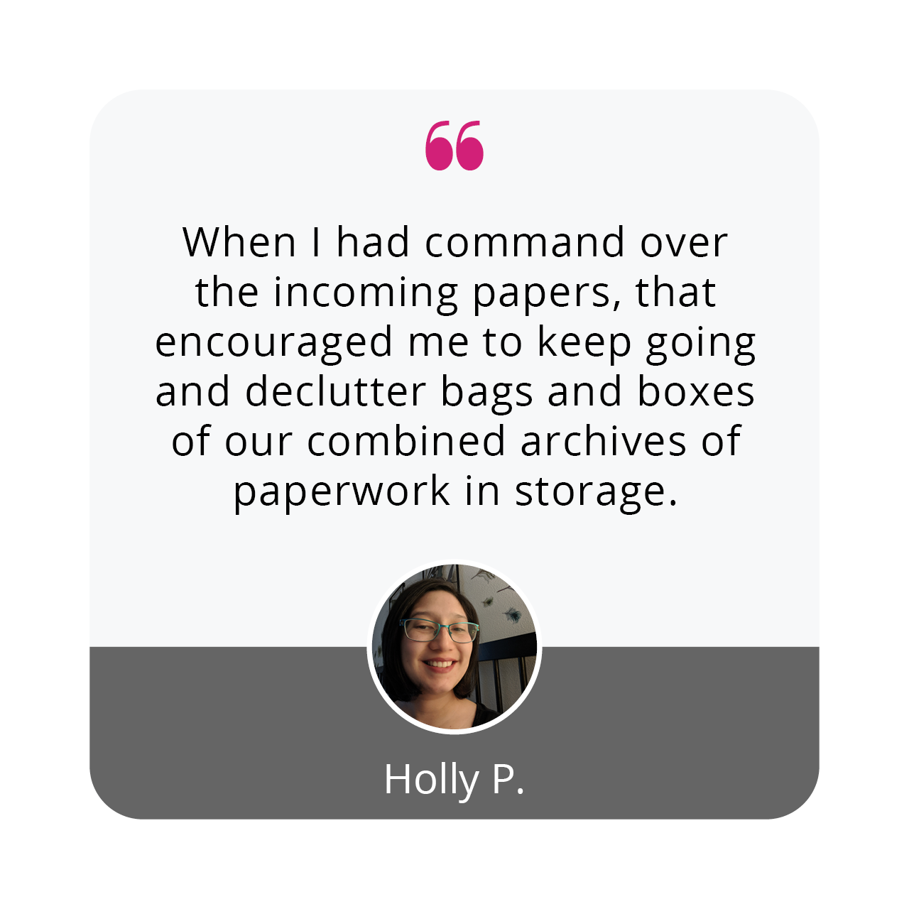 Holly P | Organize 365