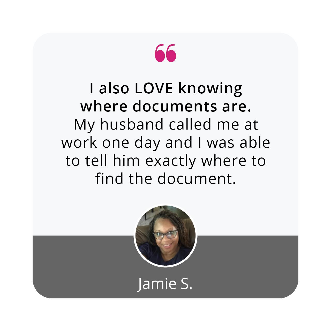 Jamie S | Organize 365