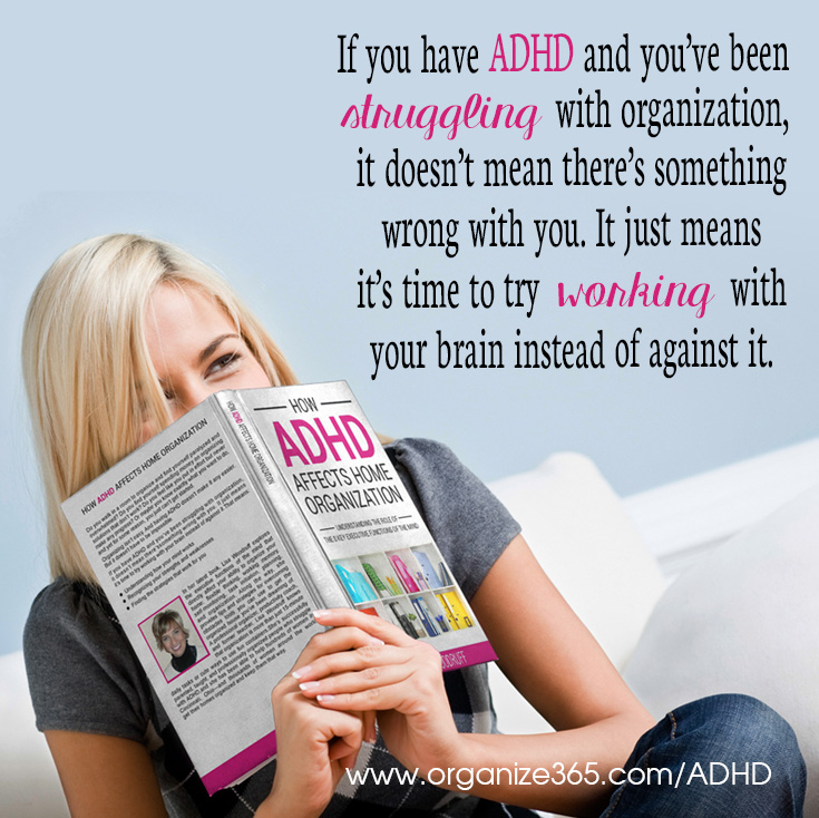 How ADHD Affects Home Organization | Organize 365