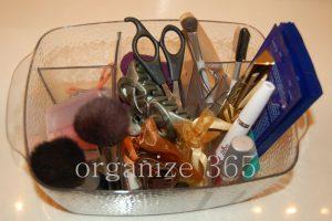 Make Up Caddy   Organize 365
