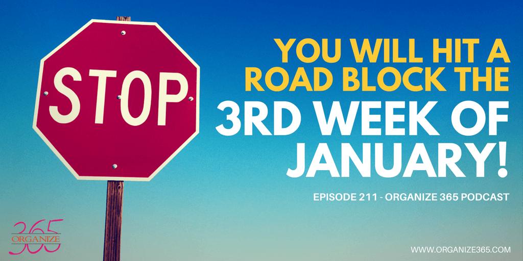 Hitting The Organizational Roadblock   Organize 365