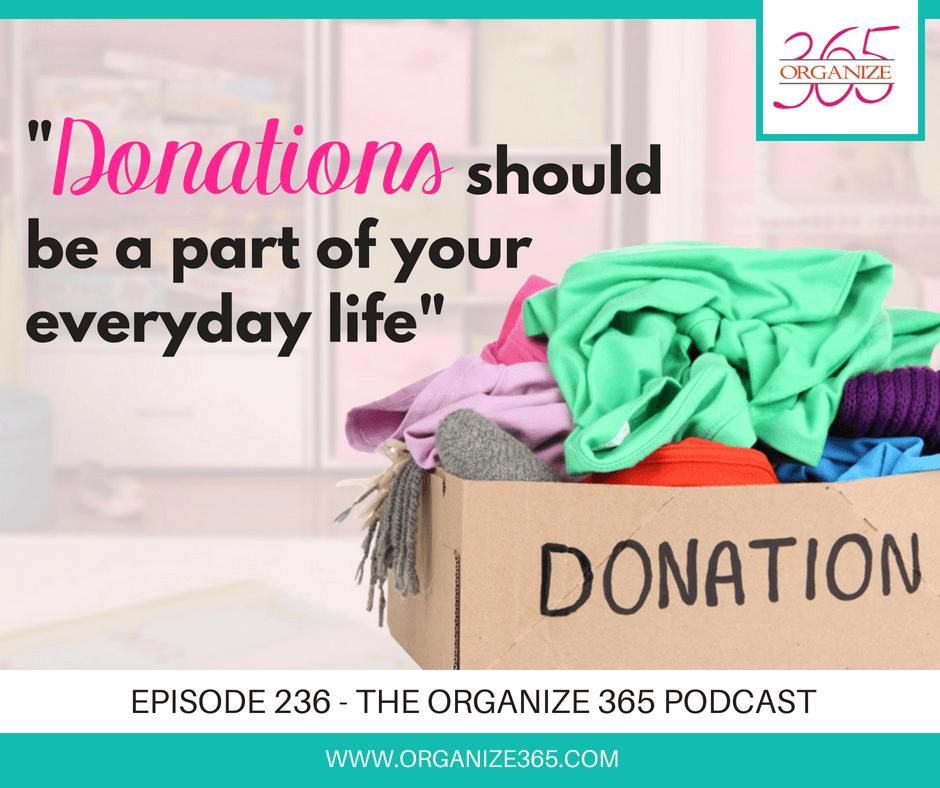 Clothing Donations | Organize 365