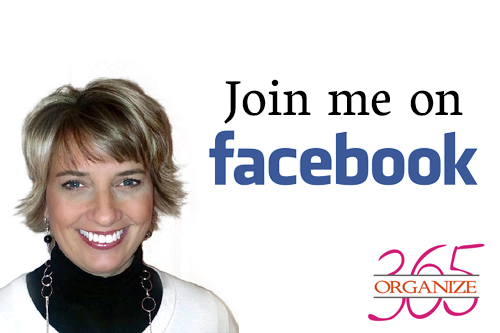 Join me on facebook   Organize 365