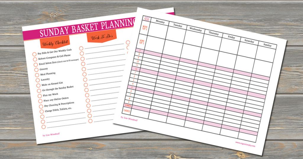 Save hours each week by planning out your weekly tasks using these FREE printables.