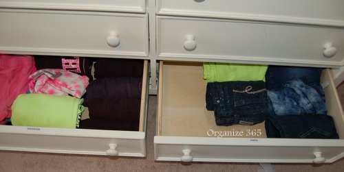 Kid's Clothes Drawers | Here are professional organizer, Lisa Woodruff's, BEST tips for buying, maintaining and organizing kids' clothes