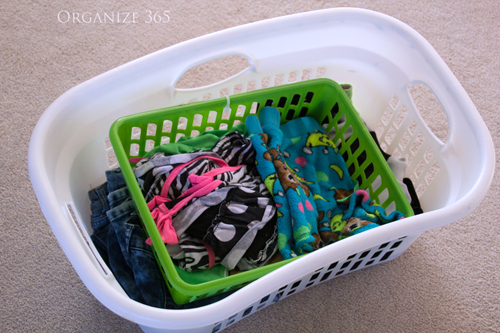Sorting Kid's Clothes | Here are professional organizer, Lisa Woodruff's, BEST tips for buying, maintaining and organizing kids' clothes