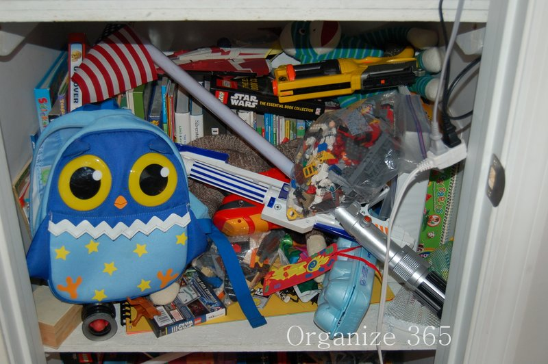 Toy Closet Under The Stairs | Organize 365