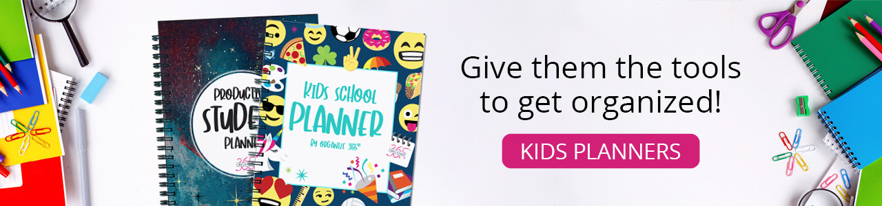 Kids Planners | Organize 365