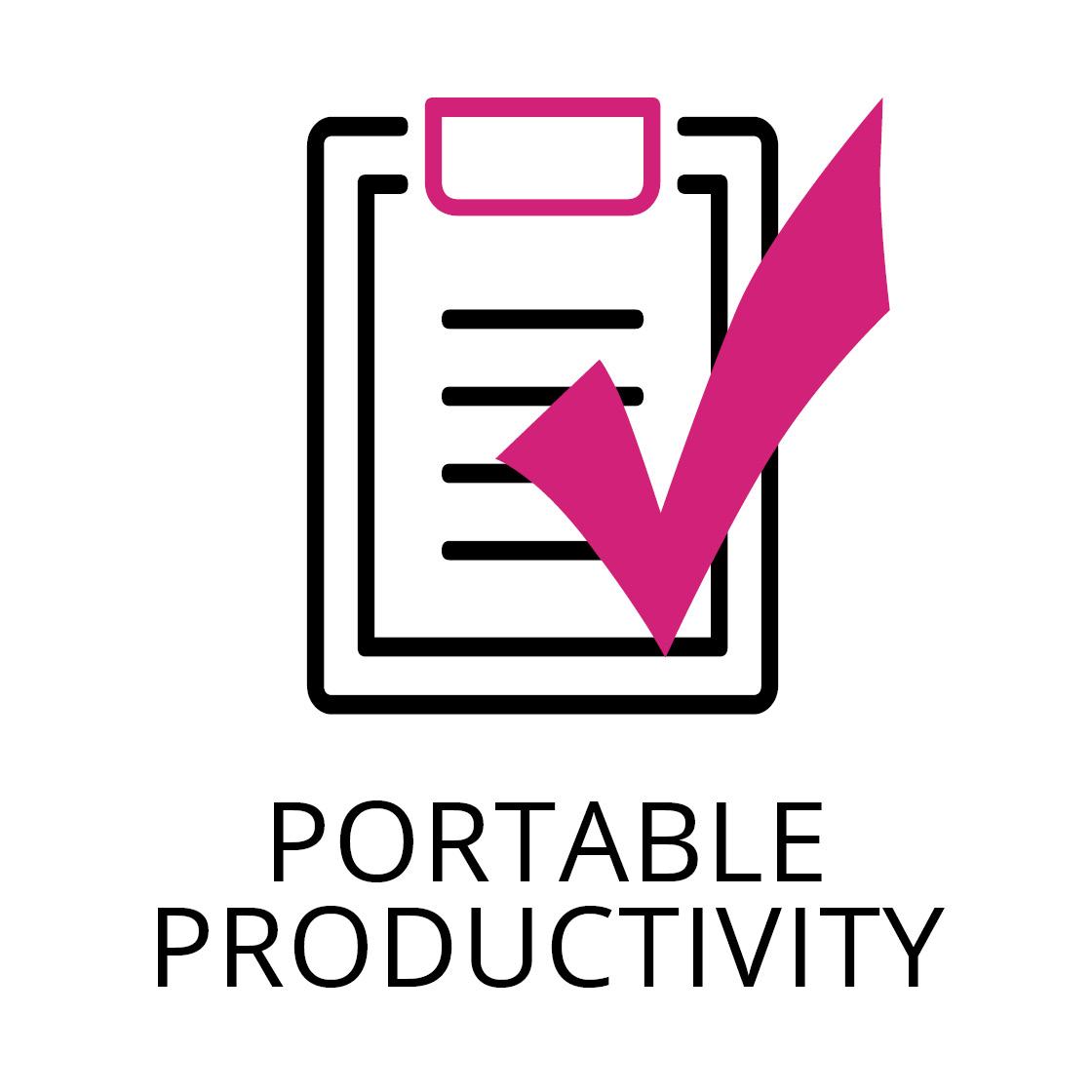 PORTABLE PRODUCTIVITY
